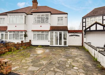 Thumbnail 3 bed semi-detached house for sale in Langham Gardens, Wembley, Middlesex