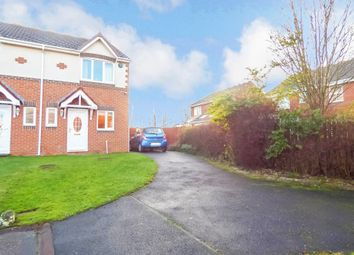 Thumbnail 2 bed semi-detached house for sale in Silverdale Road, Cramlington