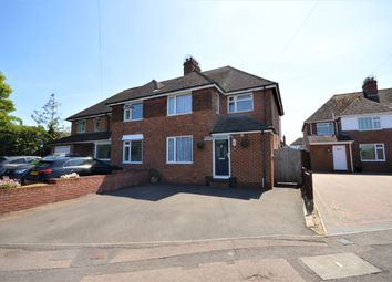 Thumbnail 3 bed semi-detached house for sale in Shorncliffe Road, Folkestone, Kent