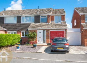Thumbnail 4 bed semi-detached house for sale in Tennyson Road, Royal Wootton Bassett, Swindon