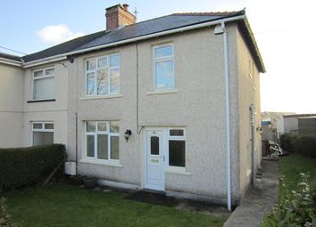 Thumbnail 3 bed semi-detached house for sale in Heolddu Crescent, Bargoed