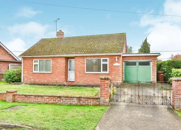Thumbnail 2 bed detached bungalow for sale in Occupation Road, Mattishall, Dereham