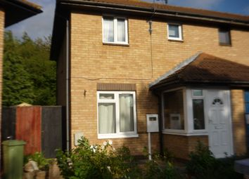 Thumbnail 2 bedroom end terrace house to rent in Pomander Crescent, Walnut Tree, Milton Keynes