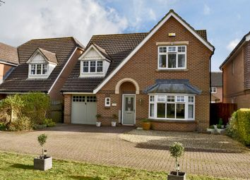 Thumbnail 4 bed detached house for sale in Paddock Gardens, Lymington