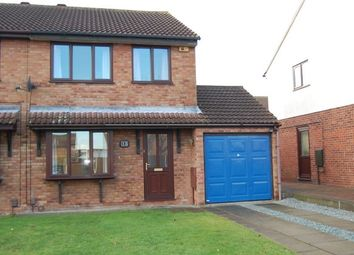 Thumbnail 3 bed semi-detached house to rent in Swayne Close, Lincoln