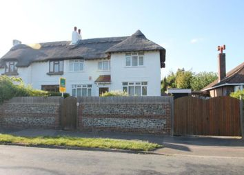 Thumbnail 4 bed semi-detached house for sale in Manor Road, North Lancing, West Sussex