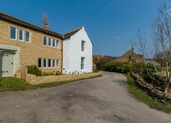 Thumbnail 4 bed cottage for sale in Royles Head Lane, Longwood, Huddersfield