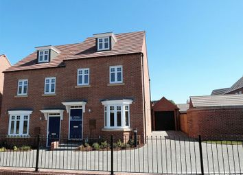 Thumbnail 3 bed semi-detached house to rent in Abbotsford Road, Ashby-De-La-Zouch