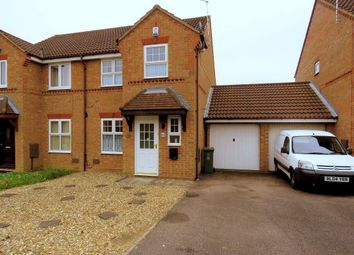 Thumbnail 3 bed semi-detached house to rent in Douglas Place, Oldbrook, Milton Keynes