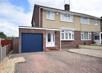 Thumbnail 3 bed semi-detached house for sale in Wansbeck Road, Keynsham, Bristol