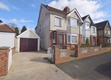Thumbnail 3 bedroom semi-detached house for sale in Leon Avenue, Bletchley, Milton Keynes