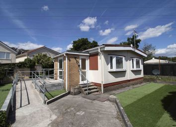 Thumbnail 2 bed mobile/park home for sale in Oaklands Park, Ystrad Road, Swansea