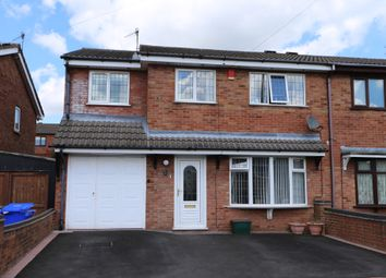 Thumbnail 4 bed semi-detached house for sale in Souldern Way, Meir Hay