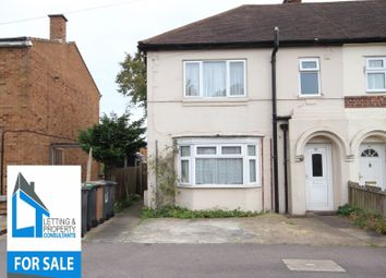 Thumbnail 3 bedroom end terrace house for sale in Harefield Road, Luton