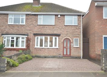 Thumbnail 3 bedroom semi-detached house for sale in Avebury Avenue, Stadium Estate, Leicester