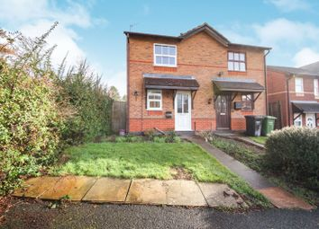 Thumbnail 2 bedroom semi-detached house to rent in Meadow Road, Droitwich Spa, Worcestershire