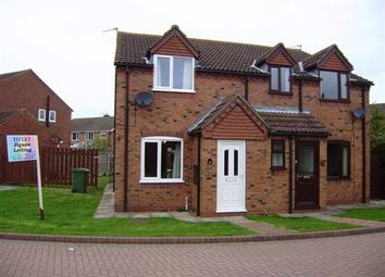 Thumbnail 2 bed semi-detached house to rent in Nanrock Close, Eastrington, Goole