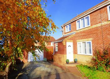 Thumbnail 3 bed semi-detached house for sale in Chaukers Crescent, Carlton Colville, Lowestoft