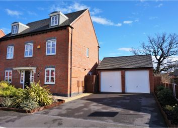 Thumbnail 5 bed detached house for sale in Paisley Walk, Swadlincote