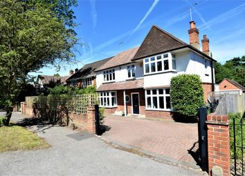 Thumbnail 4 bed detached house for sale in College Ride, Camberley, Surrey