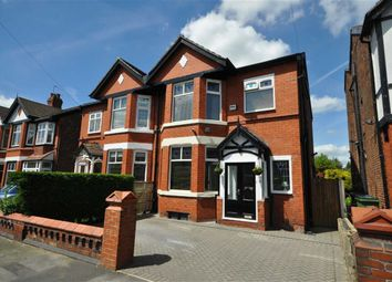 Thumbnail 4 bed semi-detached house for sale in Denby Lane, Heaton Chapel, Stockport, Greater Manchester