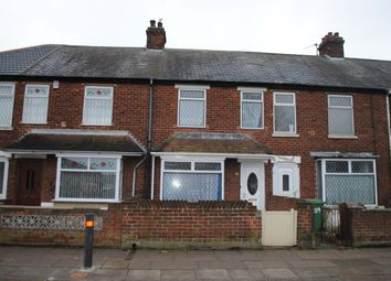 Thumbnail 2 bedroom terraced house to rent in Cromwell Road, Grimsby