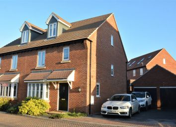 Thumbnail 4 bed semi-detached house for sale in Felix Road, Didcot