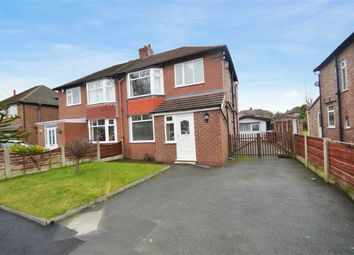 Thumbnail 3 bed semi-detached house to rent in Earle Road, Bramhall, Stockport, Cheshire