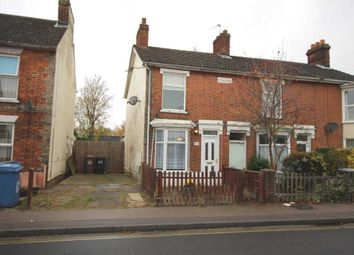 Thumbnail 2 bed semi-detached house for sale in Cauldwell Hall Road, Ipswich