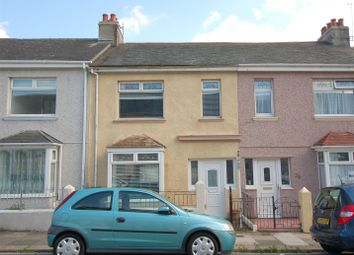 Thumbnail 3 bedroom terraced house for sale in Brunel Terrace, Plymouth