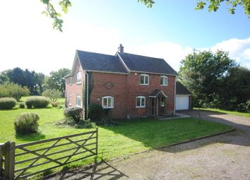 Thumbnail 4 bed detached house to rent in Station Road, Hodnet, Market Drayton
