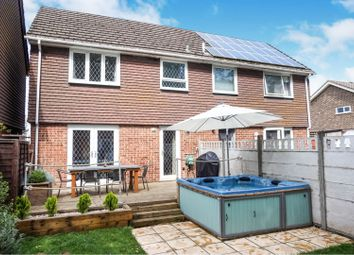 Thumbnail 3 bed semi-detached house for sale in Stonymoor Close, Holbury Southampton