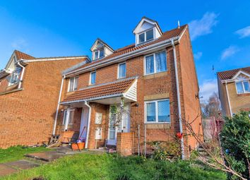 Thumbnail 3 bed town house for sale in Barnum Court, Swindon, Wiltshire