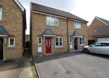 Thumbnail 3 bed semi-detached house for sale in Wise Close, Upper Stratton, Swindon