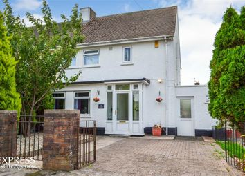 Thumbnail 3 bed semi-detached house for sale in Ceri Avenue, Rhoose, Barry, Vale Of Glamorgan