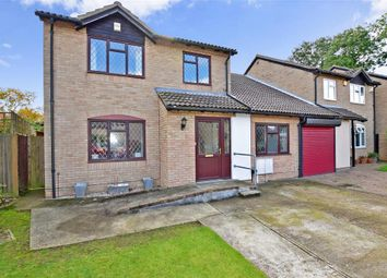 Thumbnail 5 bed link-detached house for sale in Wemmick Close, Rochester, Kent