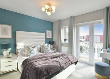 Thumbnail 3 bed semi-detached house for sale in Holborough Lakes, Manley Boulevard, Snodland, Kent