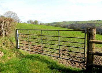 Thumbnail Land for sale in Land Nr Cefngwyn Farm, Nr Brechfa, Carmarthenshire