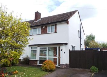 Thumbnail 3 bed semi-detached house for sale in Trinity Road, Four Oaks, Sutton Coldfield