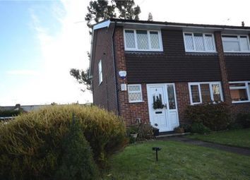 Thumbnail 3 bed semi-detached house for sale in Lea Close, Badshot Lea, Farnham