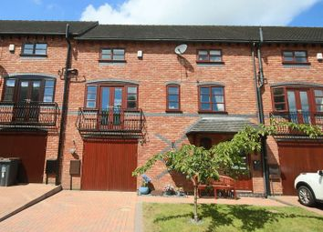 Thumbnail 4 bedroom town house for sale in Stableford Court, Stableford, Newcastle-Under-Lyme