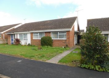 Thumbnail 2 bed semi-detached bungalow for sale in Thirlmere Drive, Stowmarket, Suffolk