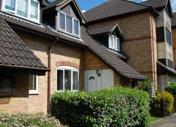Thumbnail 2 bed terraced house to rent in Steeple Gardens, Addlestone, Surrey