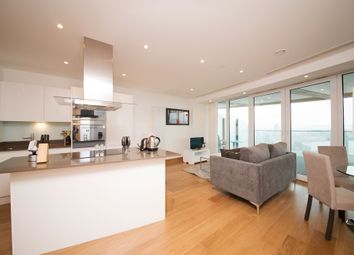Thumbnail 2 bedroom flat to rent in Arena Tower, 25 Crossharbour Plaza, Canary Wharf, London