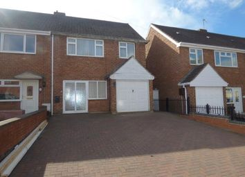 Thumbnail 3 bed semi-detached house for sale in Stretton Street, Tamworth, Staffordshire