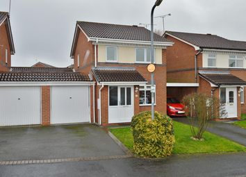 Thumbnail 3 bed detached house for sale in Woodstock Drive, Huntington, Cannock
