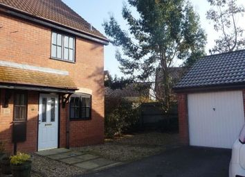 Thumbnail 2 bed semi-detached house to rent in Blansby Chase, Emerson Valley, Milton Keynes