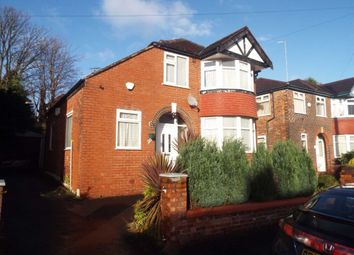 Thumbnail 3 bed detached house for sale in Downham Crescent, Prestwich, Manchester