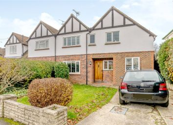 Thumbnail 4 bedroom semi-detached house for sale in Poplar Avenue, Windlesham, Surrey