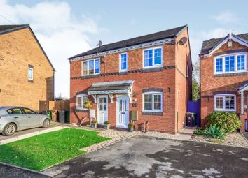 Thumbnail 2 bed semi-detached house for sale in Ludlow Lane, Walsall